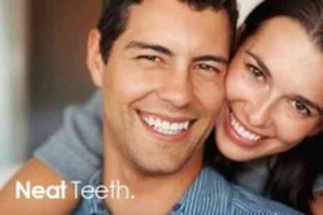 Neat Teeth - Laser Teeth Whitening For One - Save 41%