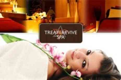 Treat and Revive Spa - Spa Ritual With Elemis Facial, White Chocolate Body Wrap and Scalp Massage - Save 79%