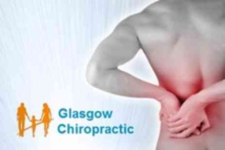Glasgow Chiropractic - Chiropractic Consultation With Spinal Screening and Three Follow Up Treatments - Save 69%