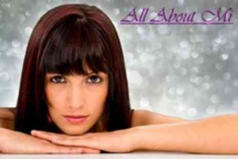 All About Mi Hair Boutique - Cut and Finish with Restyle Plus Conditioning Treatment - Save 50%