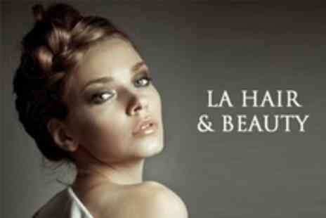 LA Hair and Beauty - Restyle Cut With Conditioning Treatment and Blow Dry - Save 58%