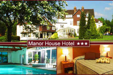 Manor House Hotel & Spa - £89 for two people to enjoy two nights at Manor House Hotel & Spa in Surrey includes breakfast, use of the spa - Save 60%