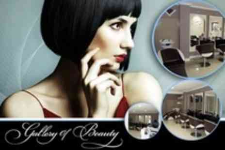 Gallery Of Beauty - Pamper Package with Manicure, Facial, Eyelash Tint, Eyebrow Tint and Shape - Save 51%