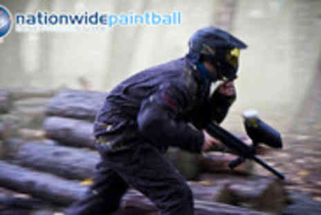 Nationwide Paintballing - Brilliant Paint balling experience for 10 people - Save 93%
