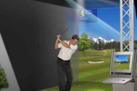 The Golf Bunker - Two Hour Golf Simulator Session - Save 68%
