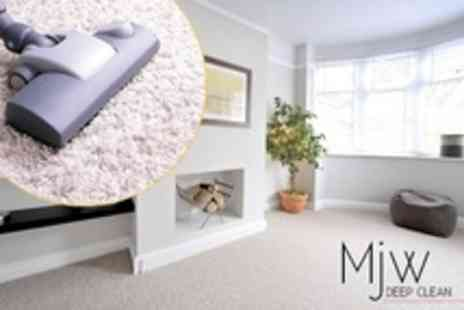 MJW Deep Clean - Carpet Cleaning For One - Save 79%