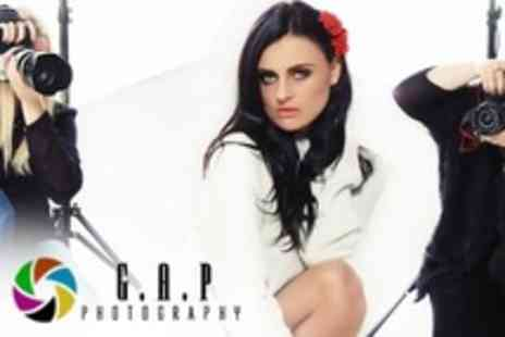 Gap Photography - Fashion, Boudoir or Commercial Photoshoot With Make Up, Hairstyling and Print - Save 89%