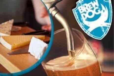 BrewDog Bars - Beer Tasting Session With Cheese and Meat Platter for One - Save 20%