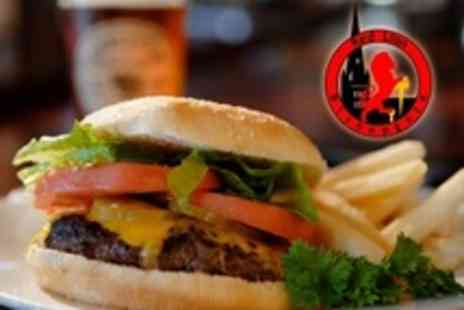 Red Lion - Cheeseburger Meal For Two - Save 50%