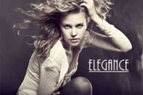 Elegance - Cut or Restyle and Finish with Conditioning Treatment - Save 65%