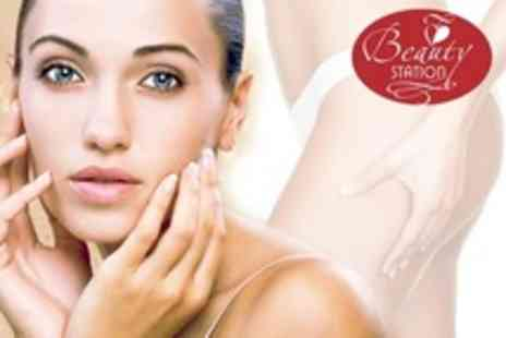 Beauty Station - Laser Thread Vein Treatment Three Sessions - Save 65%
