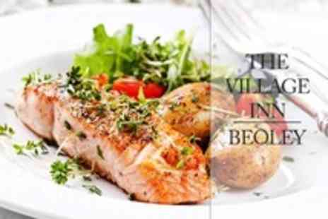 The Village Inn - Two Courses of Pub Fare For Two Plus Two Kids Meals - Save 59%