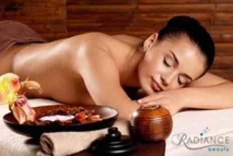 Radiance Beauty - Eve Taylor Aromatherapy Facial and Aroma Back Massage - Save 55%