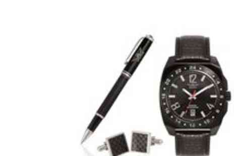 Aviator - Watch Gift Set Pen Cufflinks - Save 58%