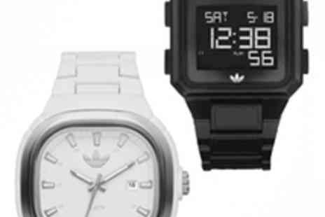 EIC Direct - Mens Black Adidas Sports Watch - Save 52%