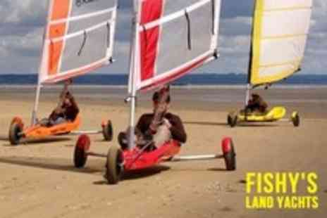 Fishys Land Yachts - 2.5 Hour Session For Two - Save 62%