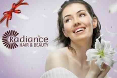 Radiance Hair and Beauty - One Hour Herbal Facial Plus Manicure or Brazilian Wax - Save 58%