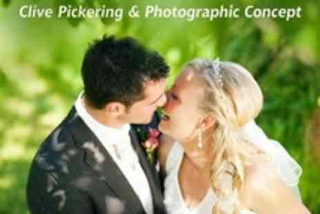 Clive Pickering - Wedding Photography Package With A4 Photo Book, Prints and Image Disc - Save 47%
