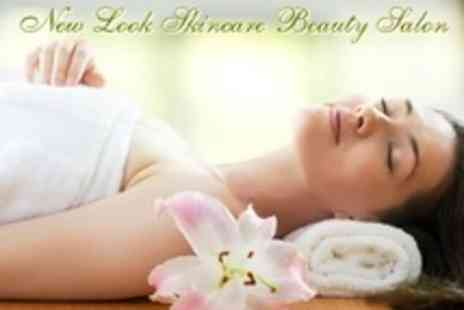 New Look Skincare Beauty Salon - One Hours Pampering with Two Treatments Such as Hot Stone Massage - Save 76%