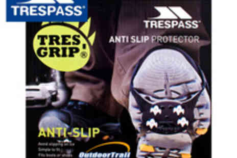 Trespass - Anti Slip Shoe Protector UK 6 8 - Save 53%