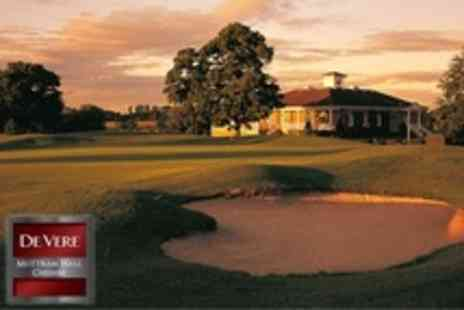 De Vere Mottram Hall - 18 Hole Game For Two - Save 64%
