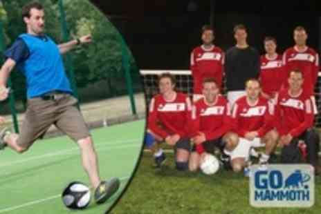 GO Mammoth - Eight Week Mens Five a Side Football League Entry - Save 70%