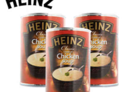Heinz - 3 x Heinz Cream Of Chicken Soup - Save 34%