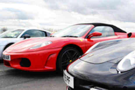 VIP UK Experience Days - 9 Lap Supercar Silver Package - Save 77%