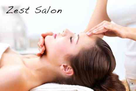 Zest Hair & Beauty - Express Facial And Back, Neck and Shoulder Massage - Save 63%