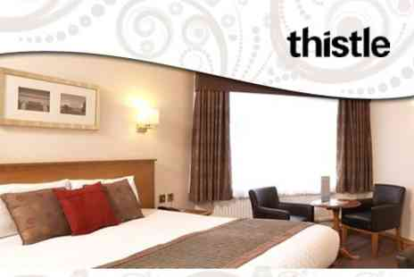 Thistle Cheltenham Hotel - Overnight Stay for Two with Breakfast and Leisure Club Access - Save 62%