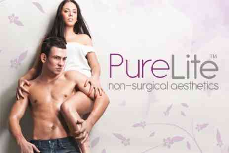 PureLite - Six IPL Hair Removal Treatments On Two Small Areas or One Medium Area - Save 76%