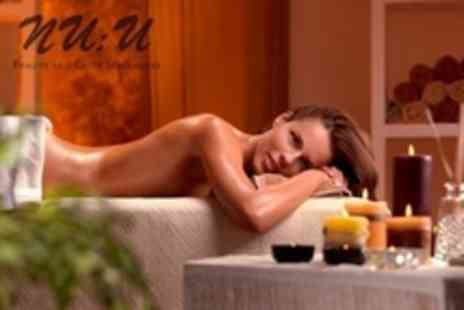 NU:U Clinic - Choice of 75 Minute Full Body Candlelit Massage Therapy - Save 58%