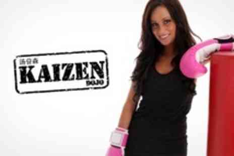 Kaizen Dojo - 29 Day Cardio Kickboxing Pass Plus Gloves and Personal Training Session - Save 62%