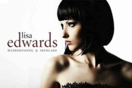 Lisa Edwards - Cut and Blow Dry Plus Conditioning Treatment - Save 62%