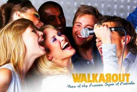 Walkabout Nottingham - Two Hours of Karaoke with Drinks For Up to 15 People for £10 at Walkabout - Save 87%
