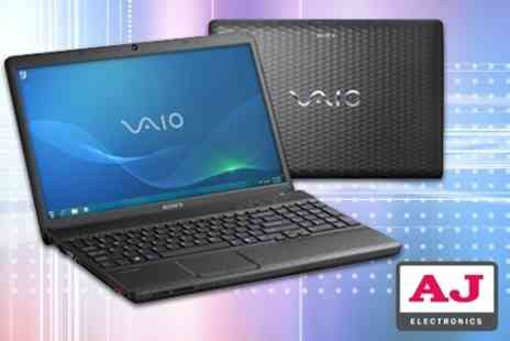 AJ Electronics - Sony Vaio 15.5 Notebook - Save 50%