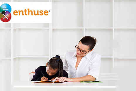 Enthuse Education - Give your child the perfect 1 month learning experience with Distance Learning Tuition - Save 82%