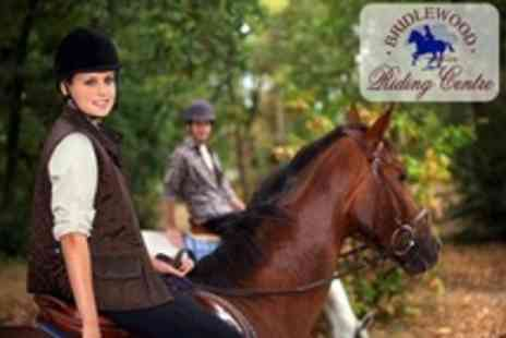 Bridlewood Riding Centre - Two Hours of  Horse Riding Lessons For One - Save 77%
