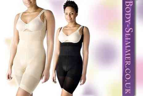 Body Slimmer - Two Seamless Bodysuits - Save 78%