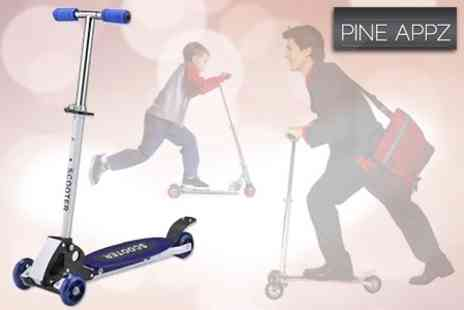Pine Appz - Maxi 4 Wheel Scooter - Save 65%