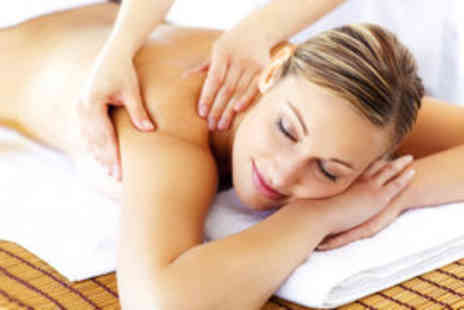 Bella Beauty - Full-body massage with a nail file and polish  - Save 74%