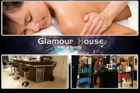 Glamour House - Hair Indulgence Package or One Hour Beauty Treatment - Save 77%