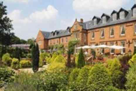 Nunsmere Hall Hotel - Award Winning Dinner for 2 - Save 11%