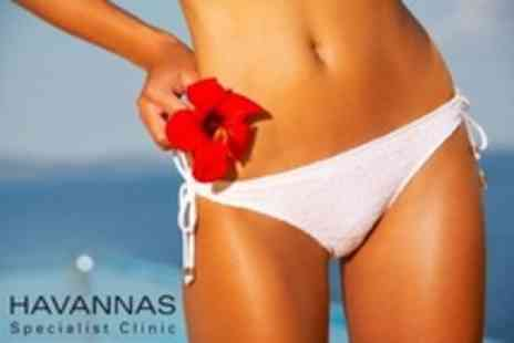 Havannas Specialist Clinic - Waxing Hollywood, Brazilian or Playboy Style - Save 20%
