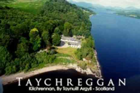 Taychreggan Hotel - In Loch Awe One Night 4star Stay For Two With Breakfast - Save 67%