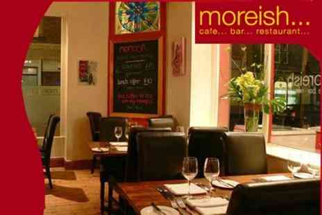 Moreish - Six Course Tasting Menu For Two With Bubbly - Save 51%