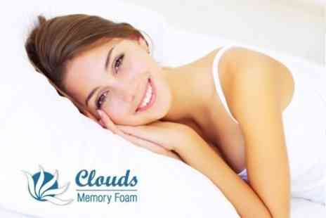 Clouds Memory Foam - One Memory Foam Pillows - Save 75%