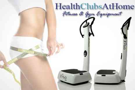 Health Clubs At Home - Vibration Plate Machine - Save 60%