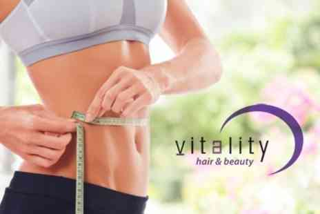 Vitality - Three iLipo Sessions With Use of Gym - Save 75%