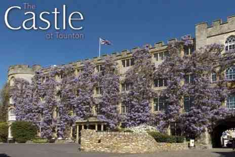 The Castle Hotel - Overnight Stay For Two With Two Course Dinner and Breakfast - Save 56%